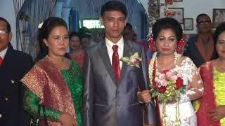 Pernikahan Adat Batak Irfan Hutapea & Lidya Riamin Tobing - DVD  1