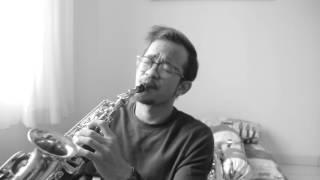 First Love -  Utada Hikaru ( short saxophone cover by Christian Ama)