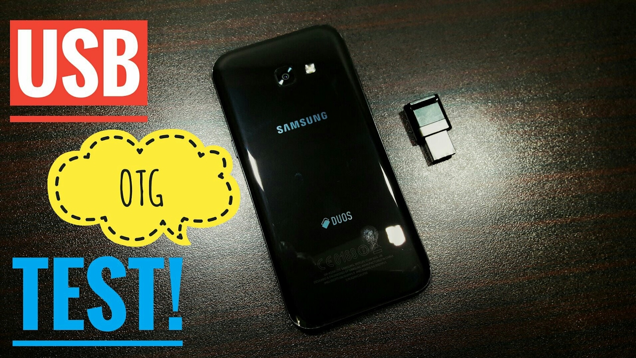 samsung galaxy a5 2017 usb otg test youtube. Black Bedroom Furniture Sets. Home Design Ideas
