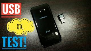 Samsung Galaxy A5 2017 USB OTG Test!