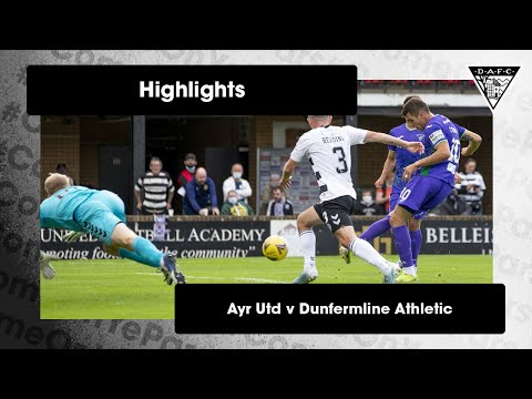 Ayr Utd Dunfermline Goals And Highlights
