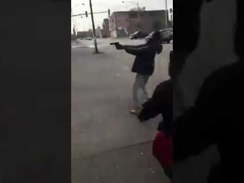 CHICAGO GANG SHOOTING ON THE SOUTH SIDE