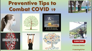 COVID 19 Prevention Tips - complete kit  - Must watch