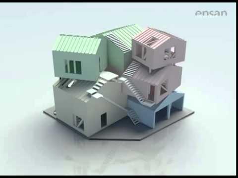Tokyo Apartment By Sou Fujimoto - YouTube