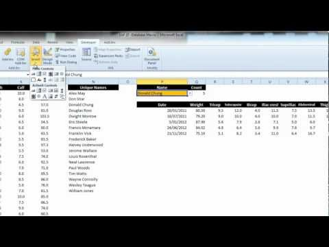 EAF #37 - Excel VBA Loop to Find Records Matching Search Criteria