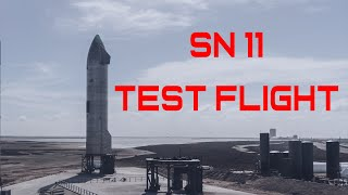 SpaceX SN11 Test Flight LIVE