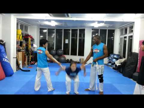 Irina's Daily Backflips at Capoeira Academy Okinawa