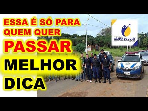 Concurso Abadia de Goiás GO 2020 Como passar para Guarda Civil Municipal Classe I MELHOR informação