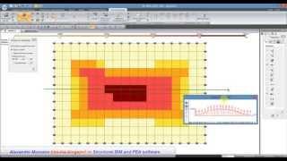 Расчет железобетонной плиты в ПК ЛИРА-САПР 2012