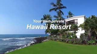 Absolute Oceanfront Kona Shangrila Luxury Vacation Home with Pool & Spa