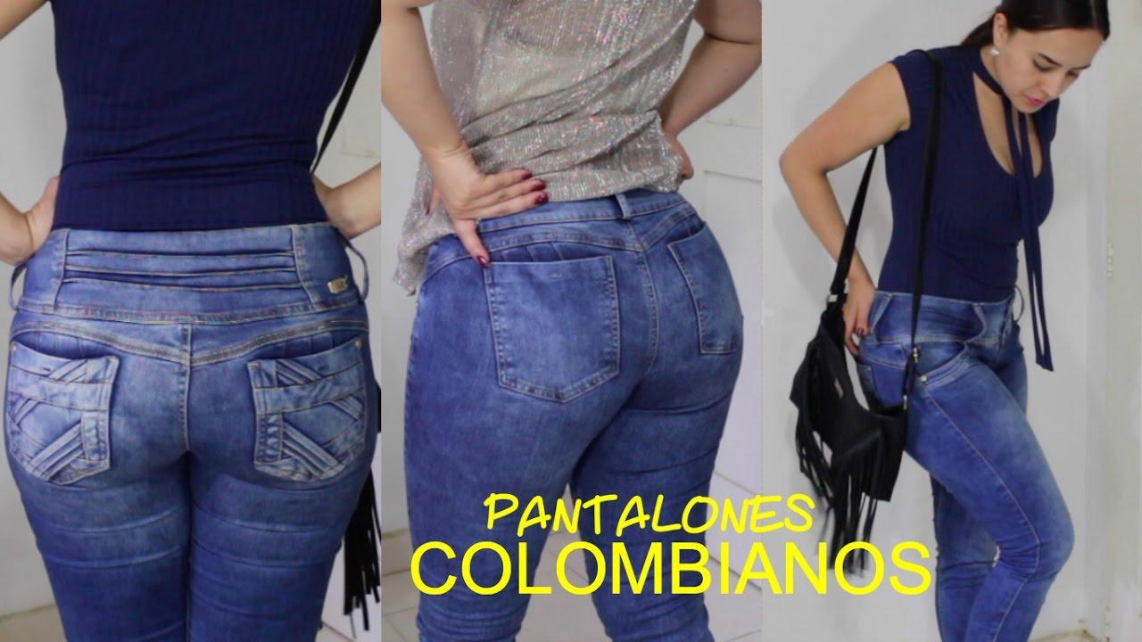 11ee7315d Haul de ropa Colombiana + Pantalones levanta cola y mas