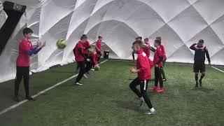 CZ5-Szabełki na Obozie z Iskrą Kochlice-Głuchołazy-Banderoza 2019 - I Trening Pod Balonem 2/3