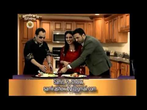 Samira's Show. with Celebrity Chef Jack Lee and Comedian and actor David Golshan
