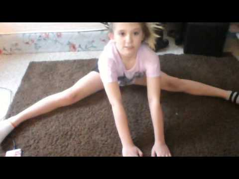 my stretch routine for dance!