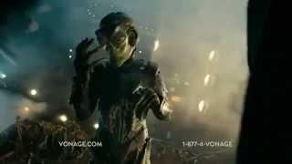 TV Commercial Spot - Vonage - Intergalactic Roadside Assistance - Unlimited International Calls