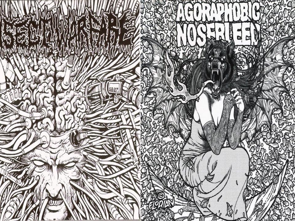 insect warfare agoraphobic nosebleed 5 split full ep 2008 grindcore youtube. Black Bedroom Furniture Sets. Home Design Ideas