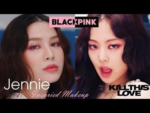 "BLACKPINK "" Kill This Love "" Jennie Inspired Makeup – Quach Anh [ENGsub]"