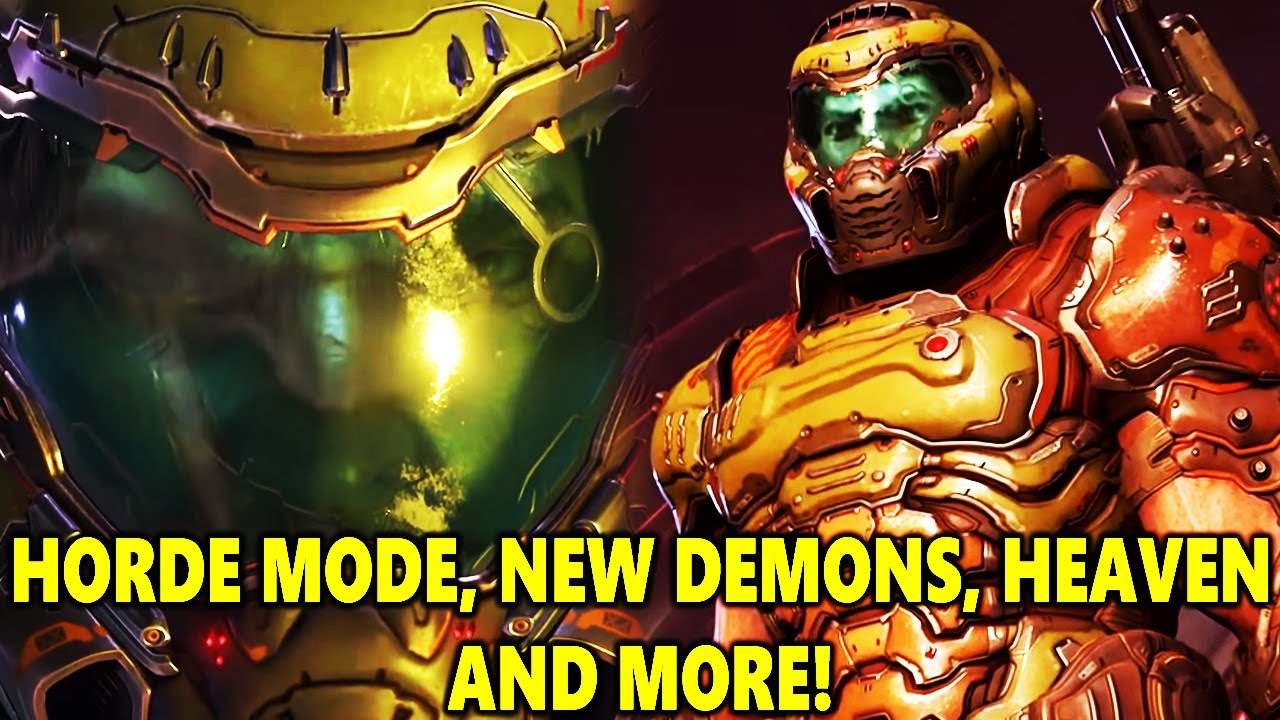 NEW Doom Eternal DLC Info Drop! Horde Mode, New Demons And More! thumbnail