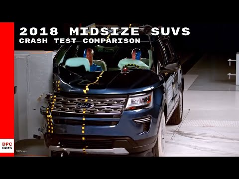 2018 Midsize SUVs Crash Test Comparison