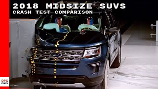 2018 Midsize SUVs Crash Test Comparison