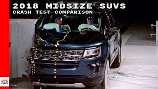 2018 Midsize SUVs Crash Test Comparison thumbnail