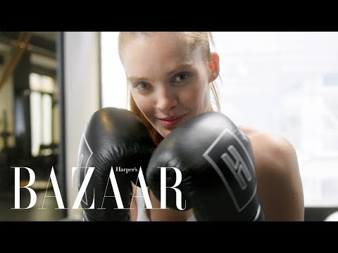 How To Work Out Like A Victoria&39;s Secret Angel  Harper&39;s BAZAAR