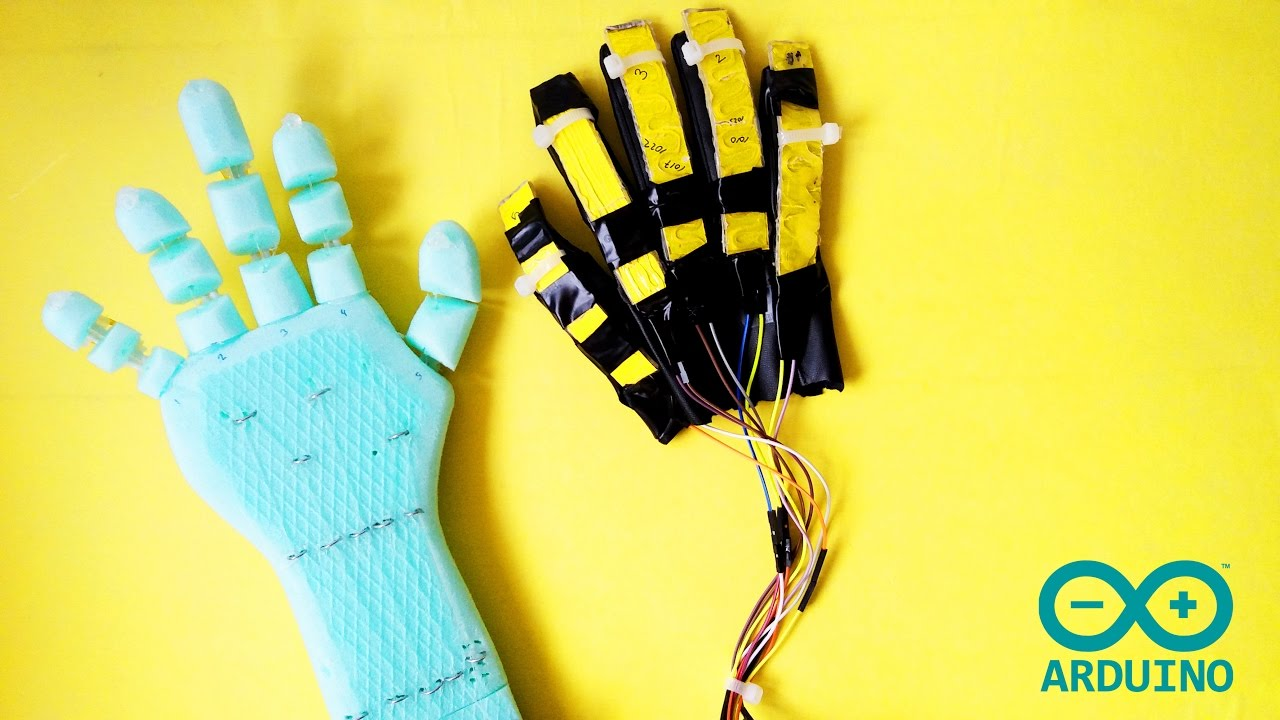 How to make arduino robot hand low cost diy