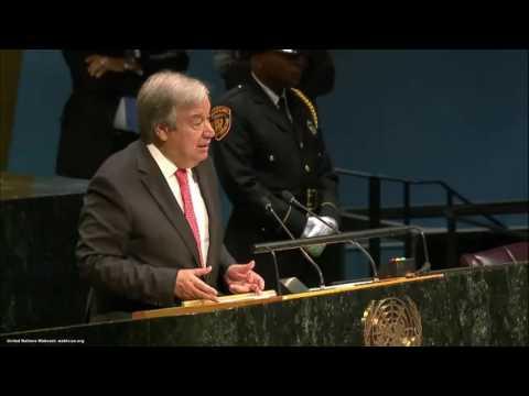 António Guterres | Assembleia Geral da ONU
