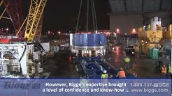 Bigge Heavy Transport - Port of Tacoma to the University of Washington