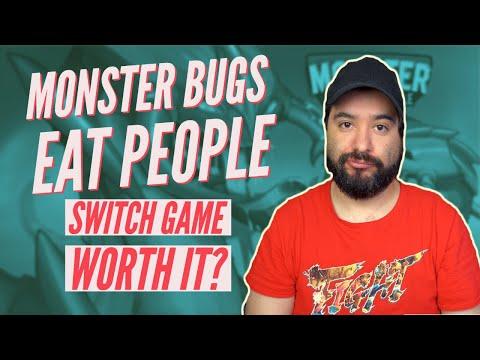Monster Bugs Eat People - Nintendo Switch - Is It Worth it? | 8 Bit Eric