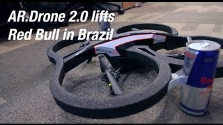 AR.Drone 2.0 lifts Red Bull in Brazil