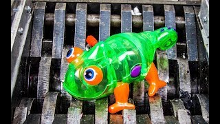 Shredding Wind-Up Animals! What's Inside Slime Bugs Mecard Dinosaurs Water Bath Toys! Orbeez