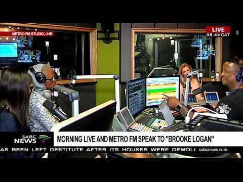 Morning Live, Metro FM host Brooke Logan  Part 1