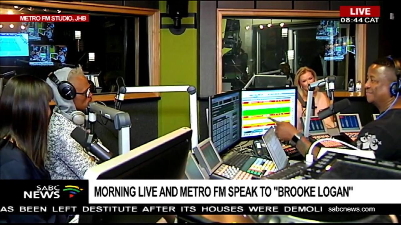 Morning Live, Metro FM host Brooke Logan - Part 1