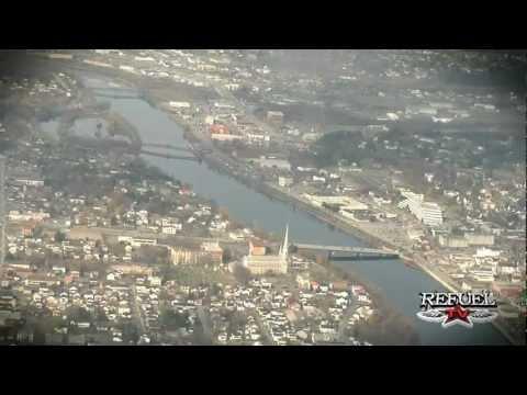 Hier à Aujourd`hui ( Autoroute 73 vue aérienne )