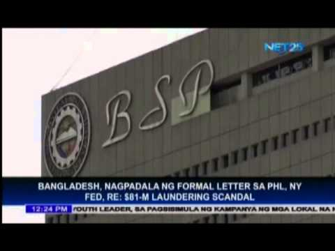 Central Bank of Bangladesh sends formal letter to Philippines regarding $81 million money laundering