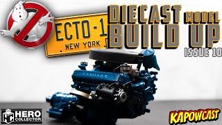 GHOSTBUSTERS ECTO-1 DIECAST BUILD | EAGLEMOSS KIT 10