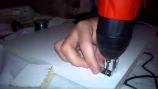Fabrication d'une tablette de refroidissement pour pc portable .