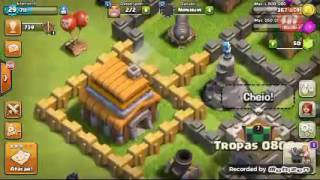 Clash of clans #9 (mesmo ataque duas vezes e olha no que deu)