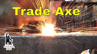 Forging a trade axe or tomahawk part 1 - blacksmithing for beginners
