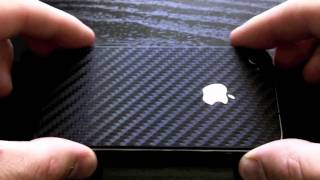 Carbon Fiber Wraps for iPhone 4 & iPhone 4s