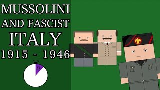Ten Minute History - Mussolini and Fascist Italy (Short Documentary)
