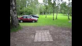 Frisbeegolf rata Vaasa, ruusutarha, sekä wasafootballcup parkkeeraus