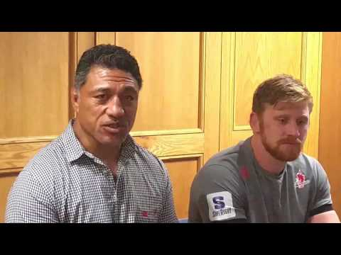 Sunwolves : Filo Tiatia talks about the positives from their tour of SA
