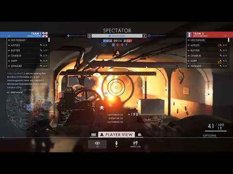 Battlefield 1: Blatant hacker caught in spectator mode! (Wall hack, aimbot, and 1-shot kills)