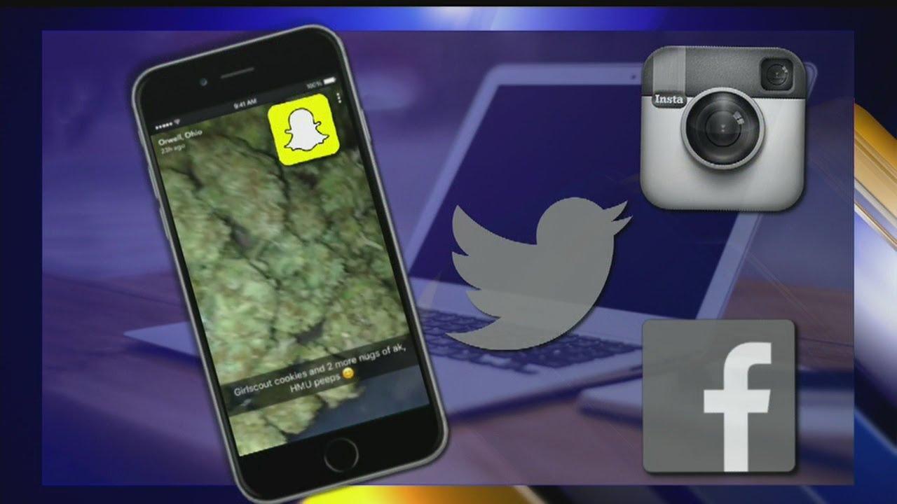 Ohio Snapchat account shares pic of marijuana buds on baking sheet