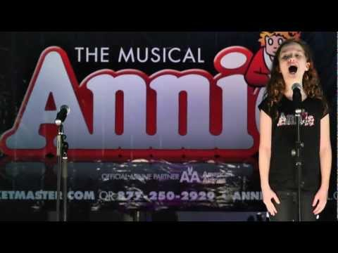 American Airlines Broadway at JFK - Annie The Musical - Tomorrow