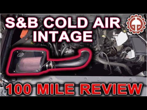 S&B Filters Air Intake - 100 Mile Review