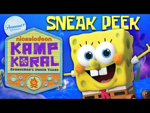 Kamp Koral: SpongeBob's Under Years PREVIEW! | Coming Soon to Paramount+