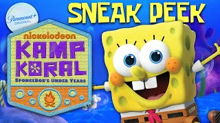 Kamp Koral: SpongeBob's Under Years PREVIEW! | Coming Soon To Paramount+